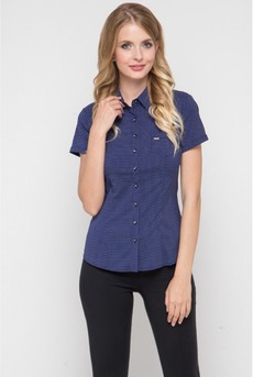 Блузка в горошек с короткими рукавами Marimay
