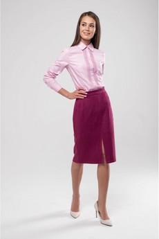 Замшевая юбка карандаш Marimay